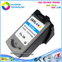 compatible canon PG37 CL38 ink cartridge for canon pixma