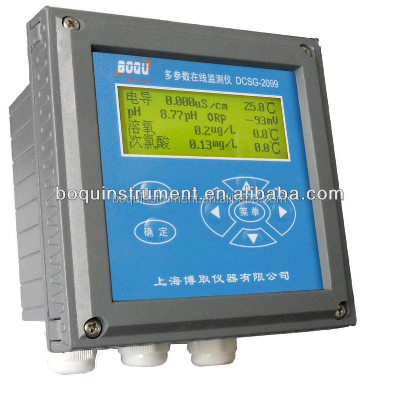 DCSG-2099 Multifuctional PH+CL+DO+TDS+Temperature+Conductivity Tester