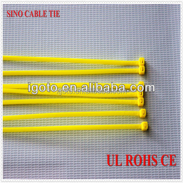 100% new material UL CE ROHS approved nature color nylon cable tie