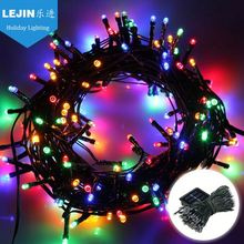 Most reliable supplier colorful noma solar string lights Free sample indoor decoration