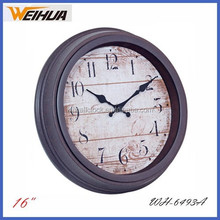 16 inch analog antique grandfather clock