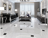 China supplier White color porcelain glazed floor wall tiles design 600x600mm