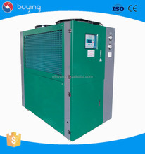 Industrial Air-Cooled Plastic Chiller 10 Ton Water Chiller With Sanyo Compressor
