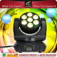 MINI 7 * 12 Watt RGBW LED MINI Beam Wash Moving Head Light, small but wonderful in China