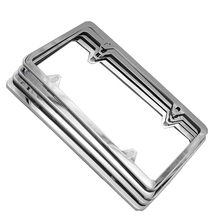 High quality American Stainless steel License Plate Frame