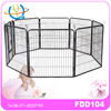 Black Dog Playpen /Crate Fence /Pet Kennel Play Pen/ Exercise Cage -8 Panel