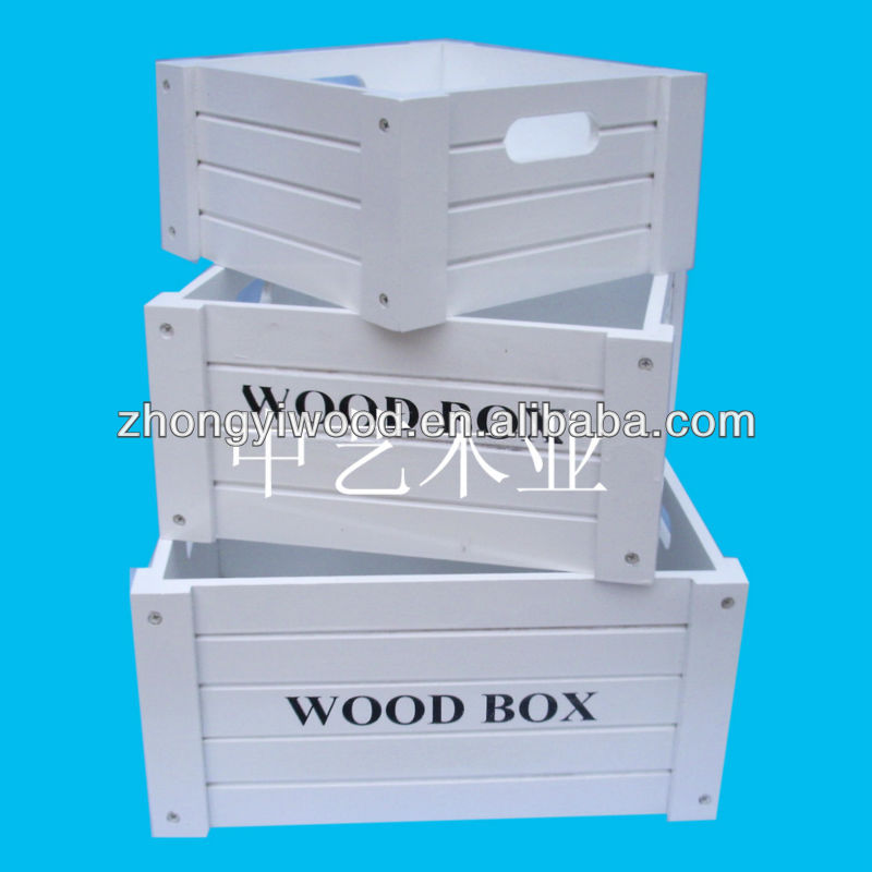 wholesale wood tool box for car trunk