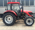 100HP Four wheel drive MAP1004 farm tractor with Disc Plough