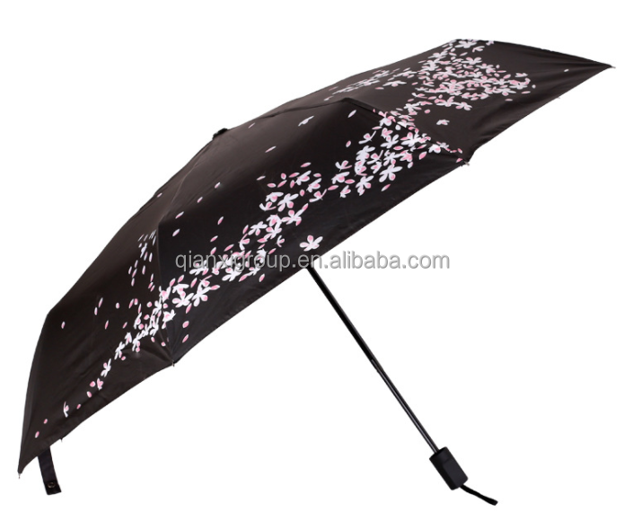 Automatic Triple Folding Umbrella/2017 Hot Selling Automatic Triple Folding Umbrella