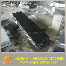 polished Chinese black antique granite Countertop 3cm