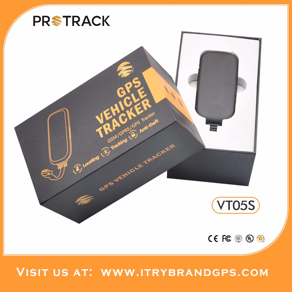 protrack Wholesale Car Security GPS Tracker tk102 one year free platform & mobile app