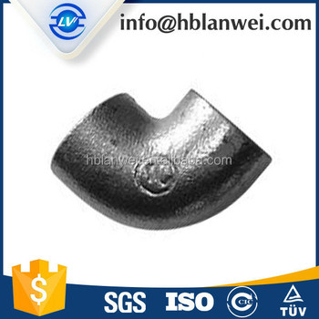 Two times baked galvanized plain pipe fittings for Bangladesh market