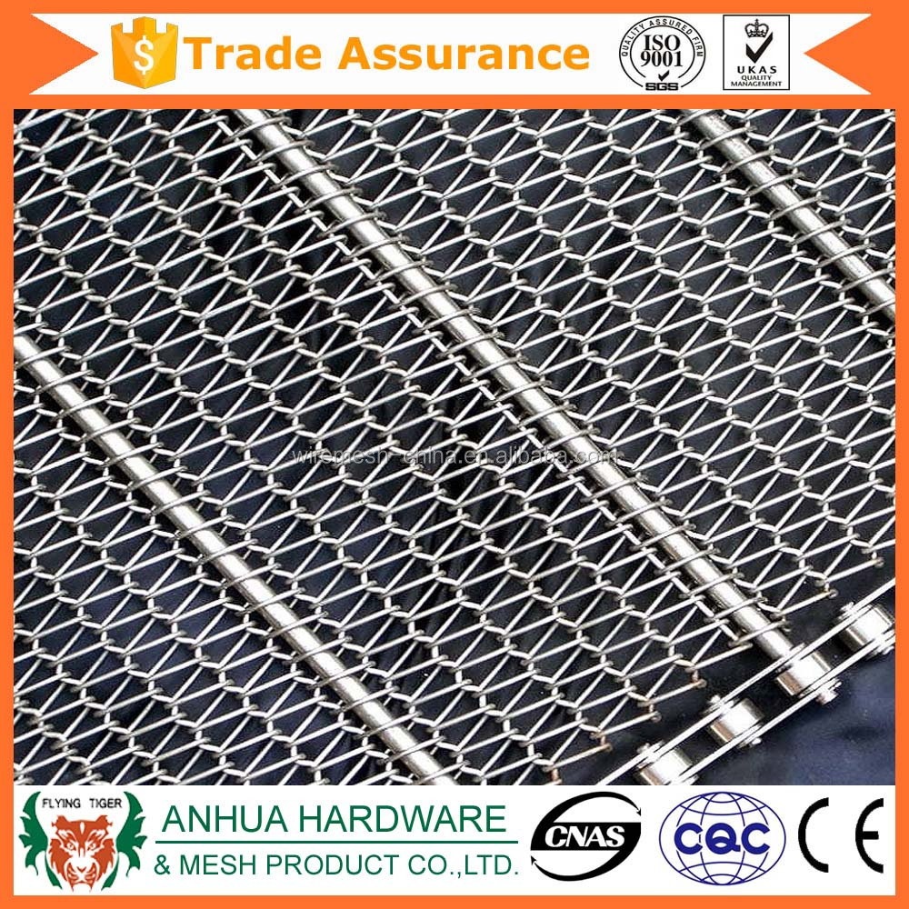 Alibaba China Trade Assurance Stainless steel chain conveyor belt mesh
