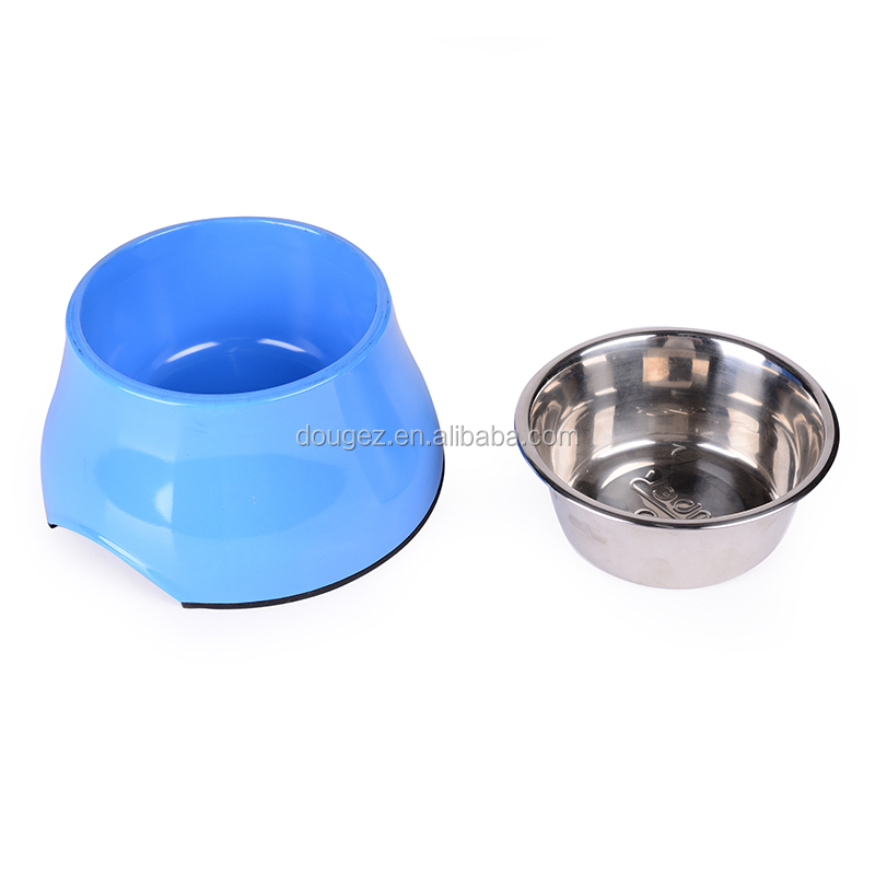 High quality detachable design stainless steel pet food bowl pet eating feeder