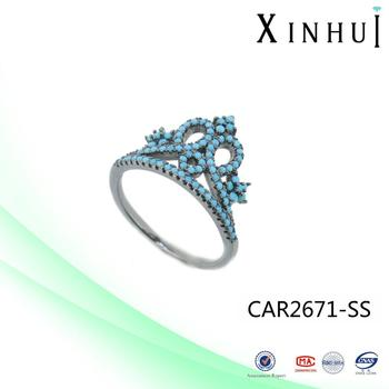 XINHUI Factory 2017 Hot King Crown Ring wholesale