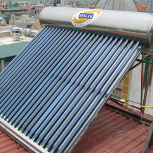 Free sea freight solar water heater