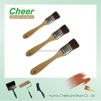 camel paint brush with tin ferrule and wooden broom handle 2014 cheer 011