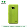 Premium High Quality Leather Two Line Pattern Phone TPU Case Back Cover For Nokia Lumia 550