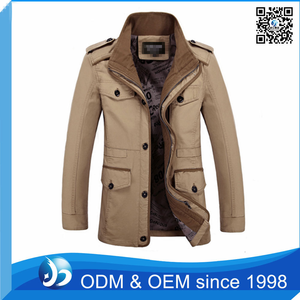 OEM Service 100% Nylon Heavy Padded Parka Jacket Men