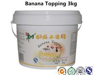 banana topping cream for baking products with HALAL 3kg