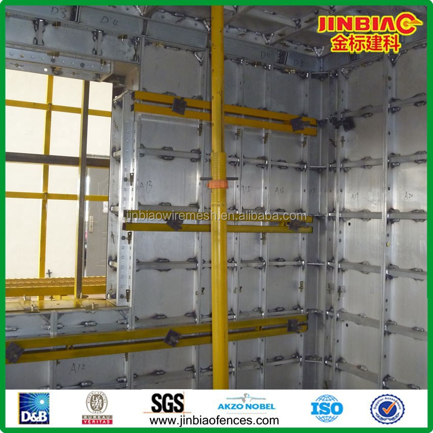 aluminum concrete form/ aluminum formwork for concrete (professional factory)