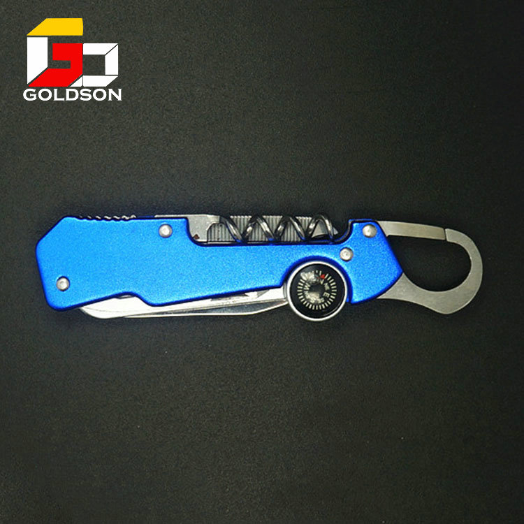 multi tools pocket knife with compass