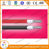 UL 4703 approved,excellent resistance to abrasion,1x4.0mm2 solar cable