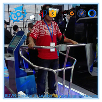 9D Virtual Reality VR roller coaster simulator Equipment / Vibration Virtual Reality simulator Ride For roller coaster Game