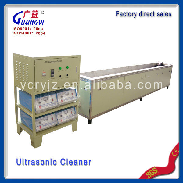 Manufacture diesel particulate filters cleaning ultrasound bath