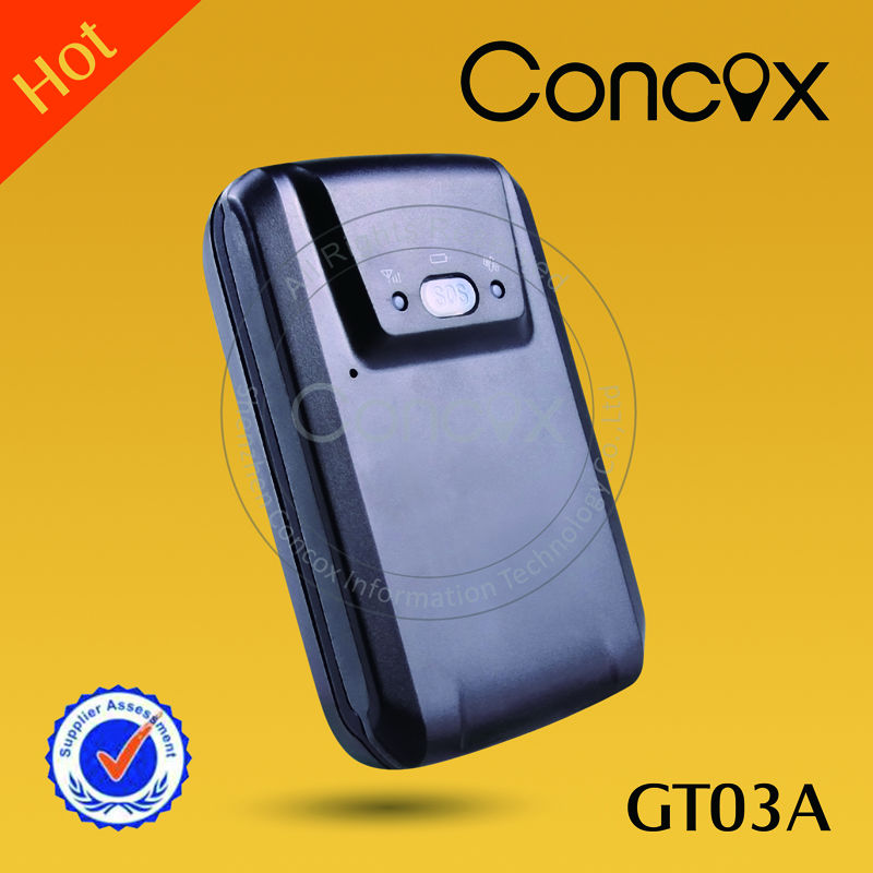 Concox Portable easy attach Global positioning system GT03A