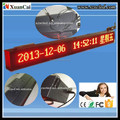 Red color RF wireless communication P10-16x224 outdoor advertising LED display screen