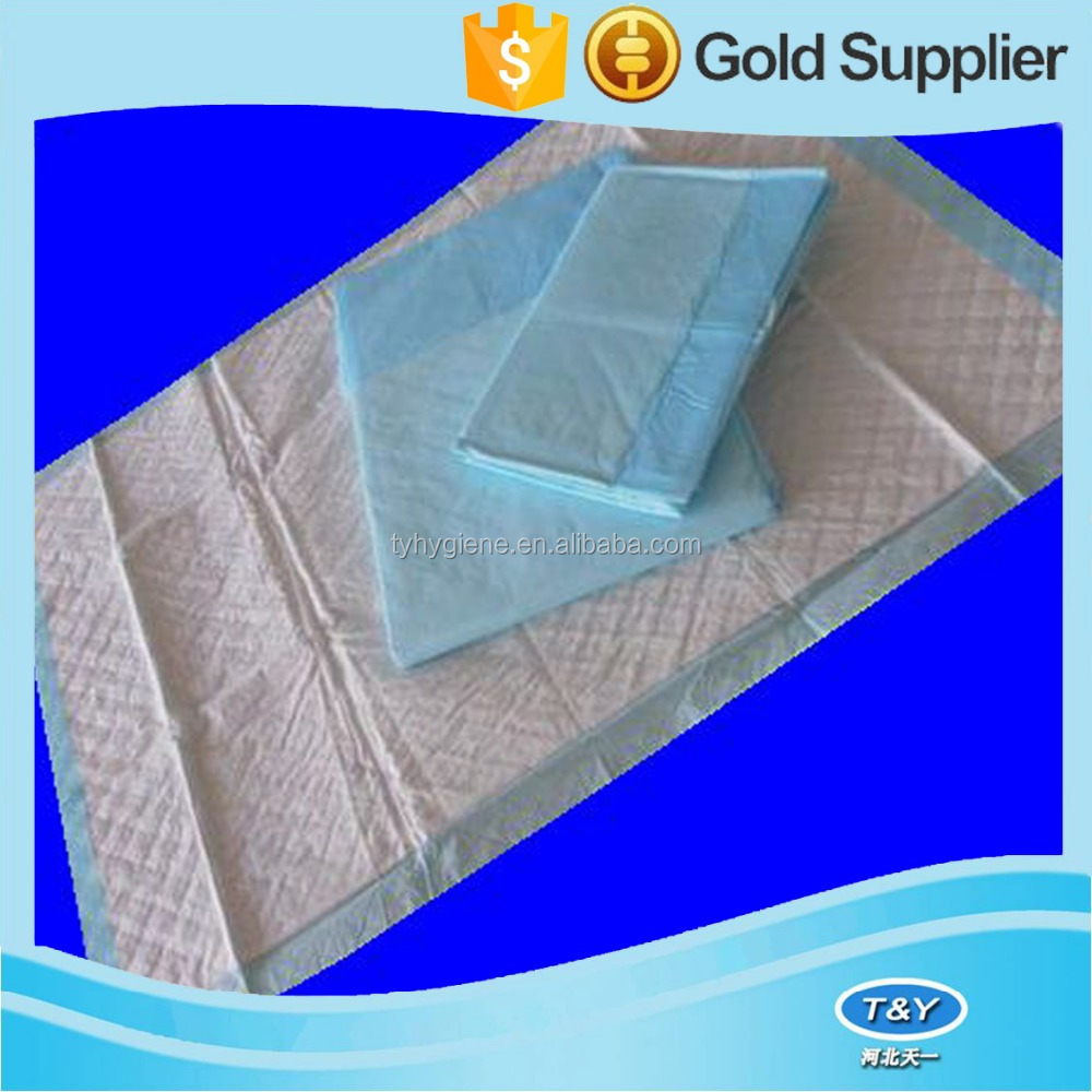 Wonderful nonwoven bed sheet/beding set/disposable underpad from factory directly