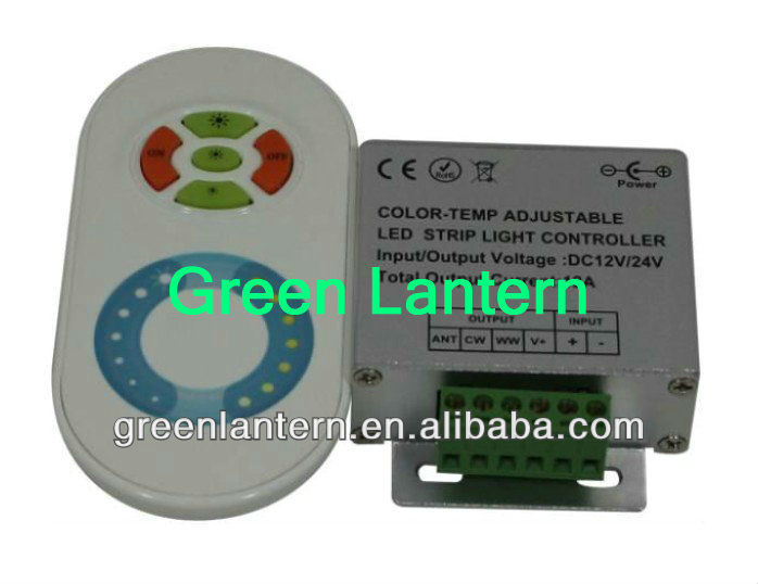 RF Wireless Touching CT and brightness LED dimmer controller