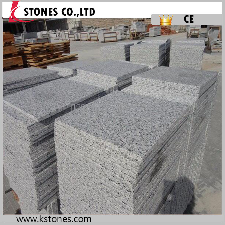 KINGSTONES PROJECT black Granite cube stone cobble stone with net
