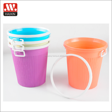 Popular home plastic rubbish trash can waste paper collecting container bin for garbage bin