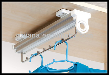 Wardrobe accessories pull out hanger holder