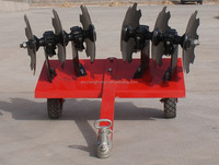 agricultural tool garden mini tractor with disc harrow