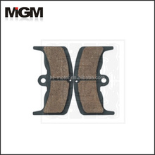 Manufactory OEM high quality motorcycle parts for brake shoe