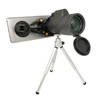 Factory Direct Tripod Available FMC lens 12x50 40x60 Monocular Telescope for phone