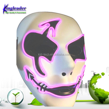 LED EL Wire Lighting Mask Masquerade Festival Halloween Party Mask