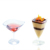 Whosales cheap wine bottle shaped cakes Plastic wine cup for cake