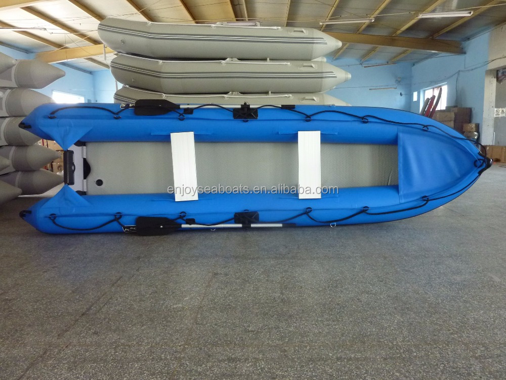 Best fishing kayak with pedals inflatable kayak ak 430 for for Best inflatable fishing kayak