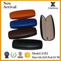 popular europe eco friendly pu leather optical cheap glasses cases