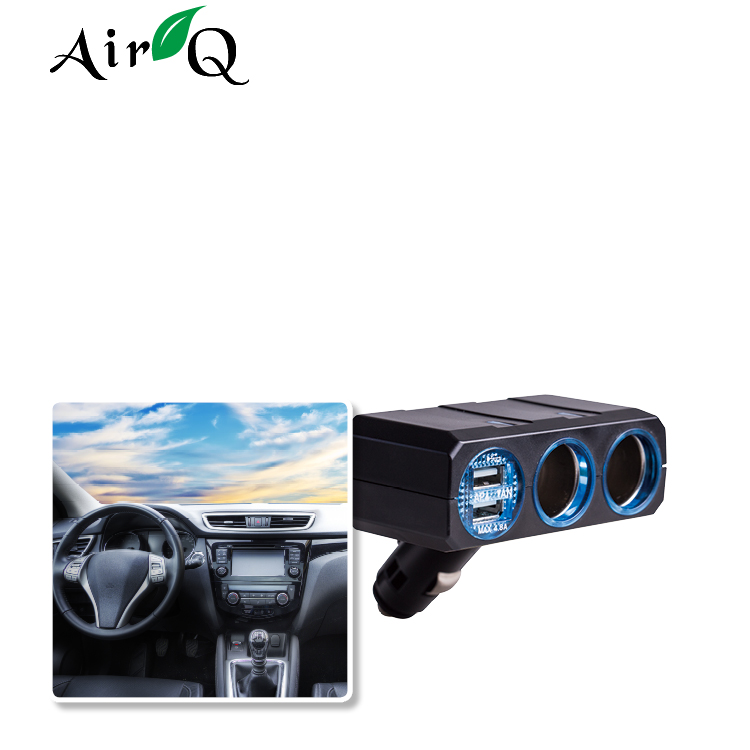 Factory direct sale 4 port usb charger, car multi charger