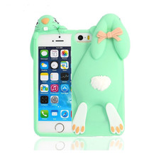 customized silicone 3D for iphone 6s case