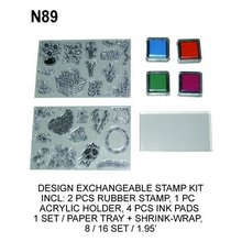 N89 DESIGN EXCHANGEABLE STAMP KIT