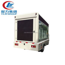 4*2 Mini LED Screen Video Billboard Truck P6 P8 Led Advertising Trucks