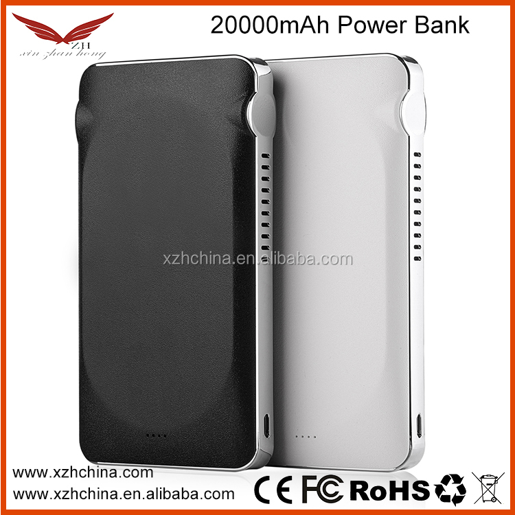 Any logo Customized portable power bank 15000 mah /portable battery charger/ dual USB mobile power