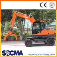 Best selling 8t wheel excavator