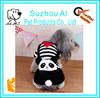 Lovely Cartoon Autumn Winter Warm Coral Hoodie Jumpsuit Outfit Dog Apparel Pet Clothes